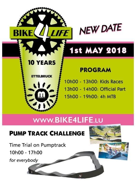 Bike4life a ettelbruck le 010517