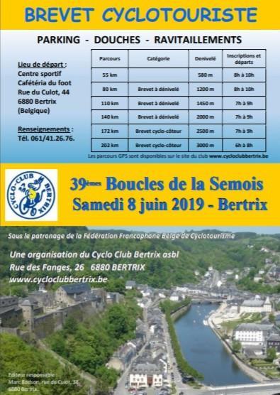 Brevet cyclotouriste a bertrix le samedi 80621