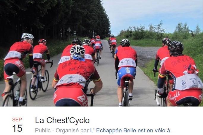 Cyclo a neufchateau les 15 et 160919