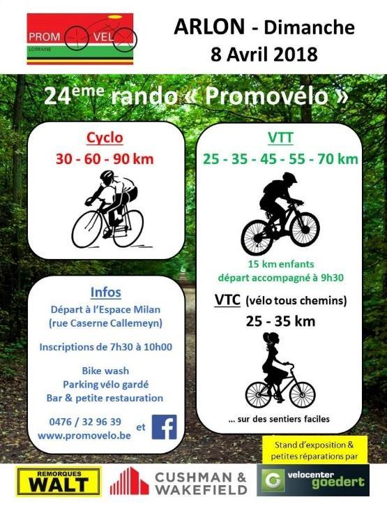 Cyclo vtt vtc a arlon le 80419