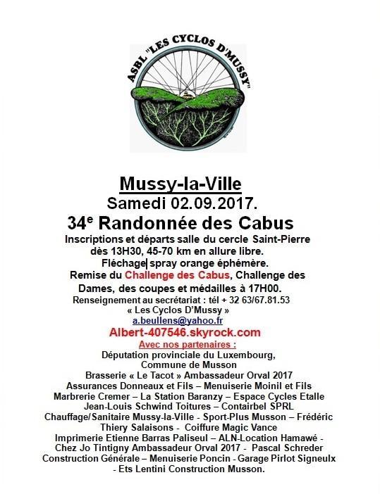 Cyclos a mussy le 020917