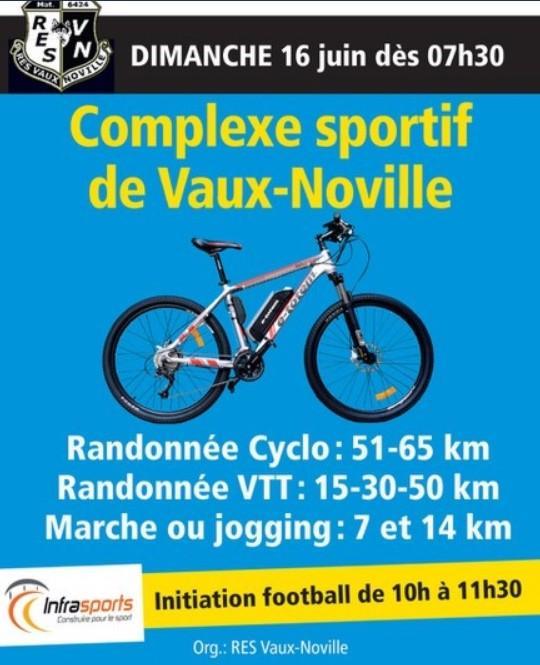 Cyclos vtt et marche a vaux noville le 160619