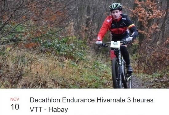 Endurance vtt habay le 101119