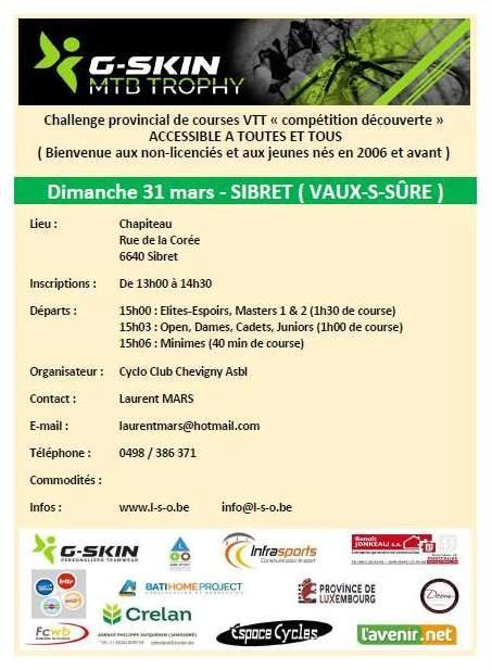 G skin mtb trophy a Sibret (Vaux-S-Sure) le 310319