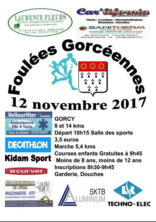 Les foulees gorceennes 2019