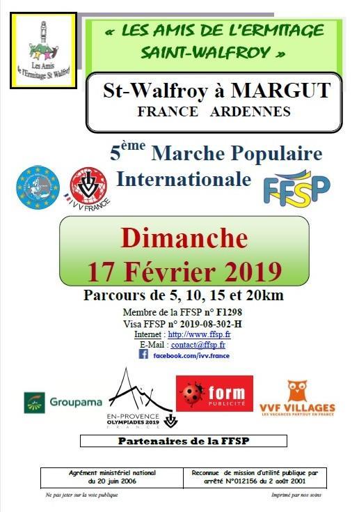 Marche populaire a saint walfroy margut fr le 170219