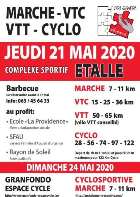 Marche vtc vtt cyclo a etalle le 21052020