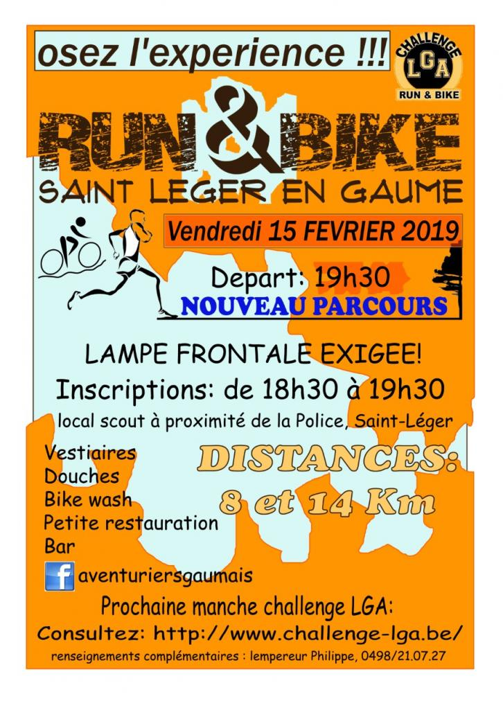 Run and bike a saint leger le 150221