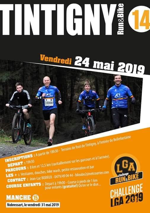 Run and bike a tintigny le 240520