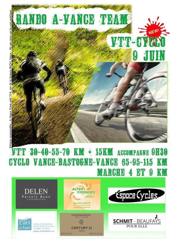 Vtt cyclo et marche a vance etalle le 90620