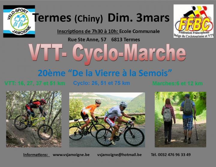 Vtt cyclo marche a termes chiny le 030319
