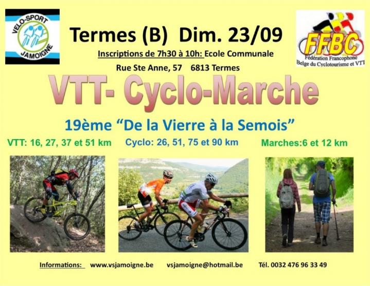 Vtt cyclo marche a termes chiny le 230920