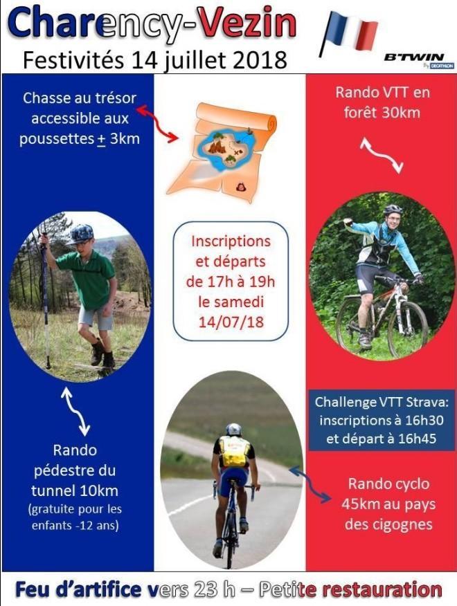 Vtt cyclo marche charency vezin fr le 140719