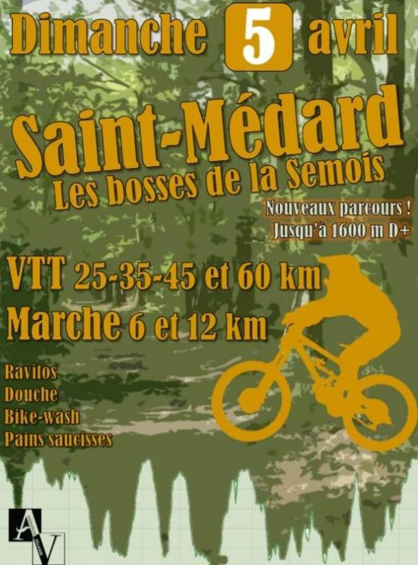 Vtt marche a saint medard le 050420