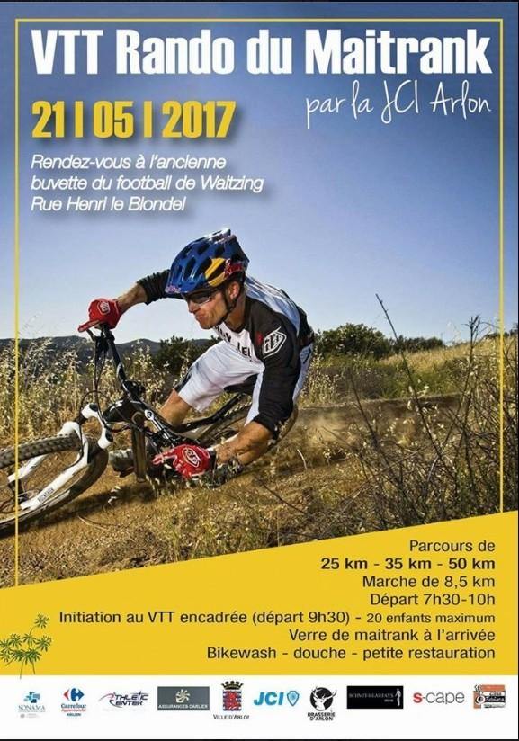 Vtt marche a waltzing le 210519