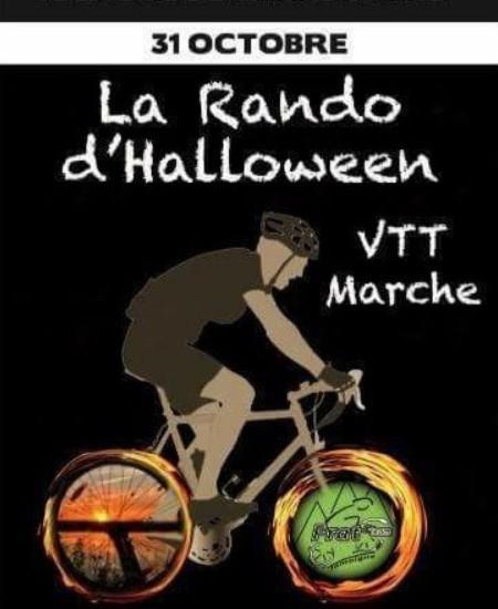 Vtt marche nocturne halloween a valansart le 311018